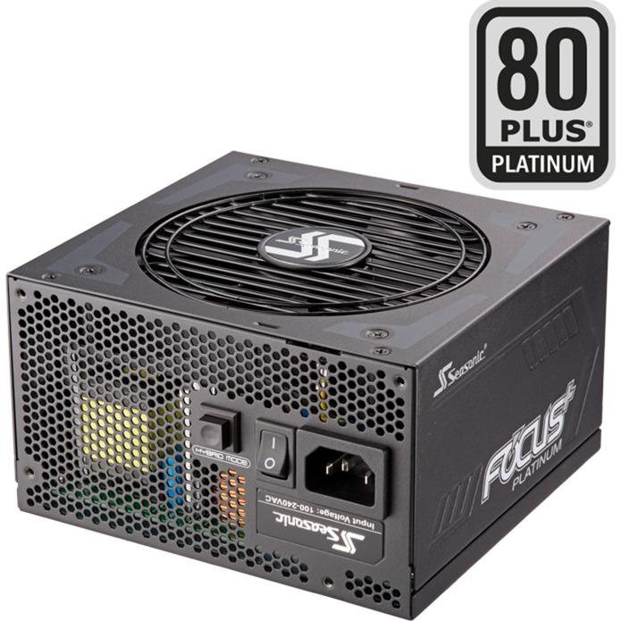 Focus Plus 850 Platinum 850W ATX Negro unidad de fuente de alimentación, Fuente de alimentación de PC