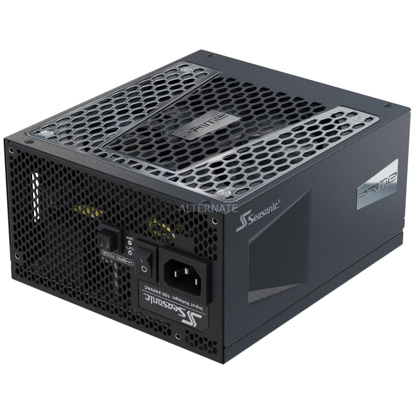 PRIME-TX-850 unidad de fuente de alimentación 850 W ATX Negro, Fuente de alimentación de PC