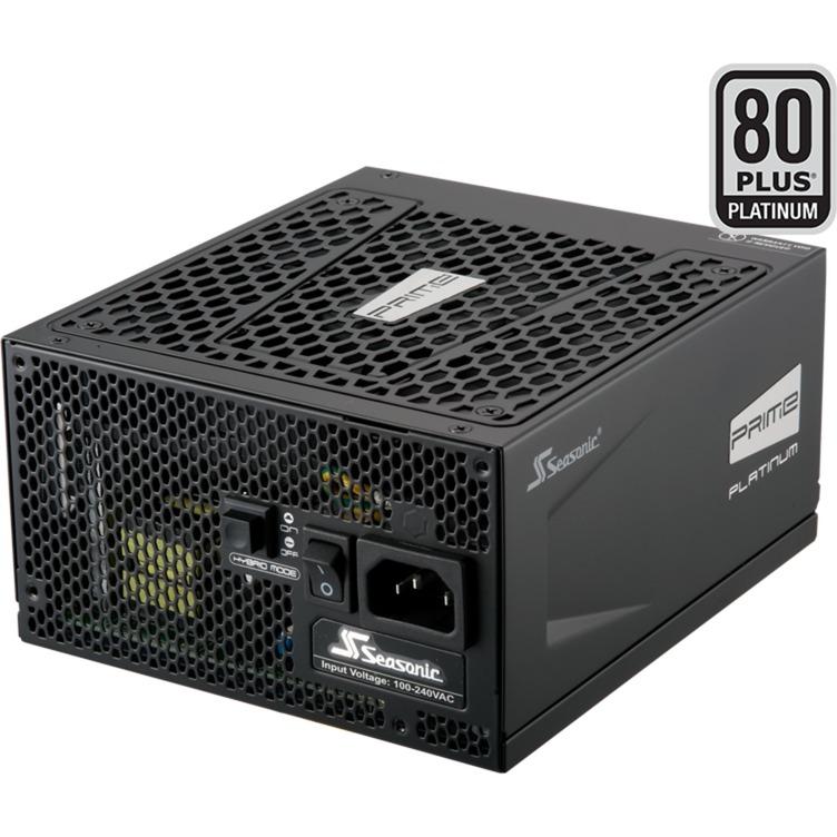 Prime Platinum unidad de fuente de alimentación 850 W ATX Negro, Fuente de alimentación de PC