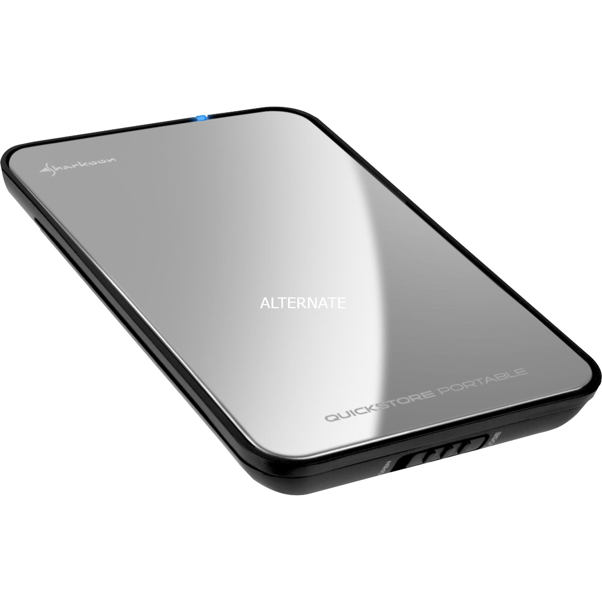 """4044951010219 caja para disco duro externo 2.5"""" Plata, Caja de unidades"""