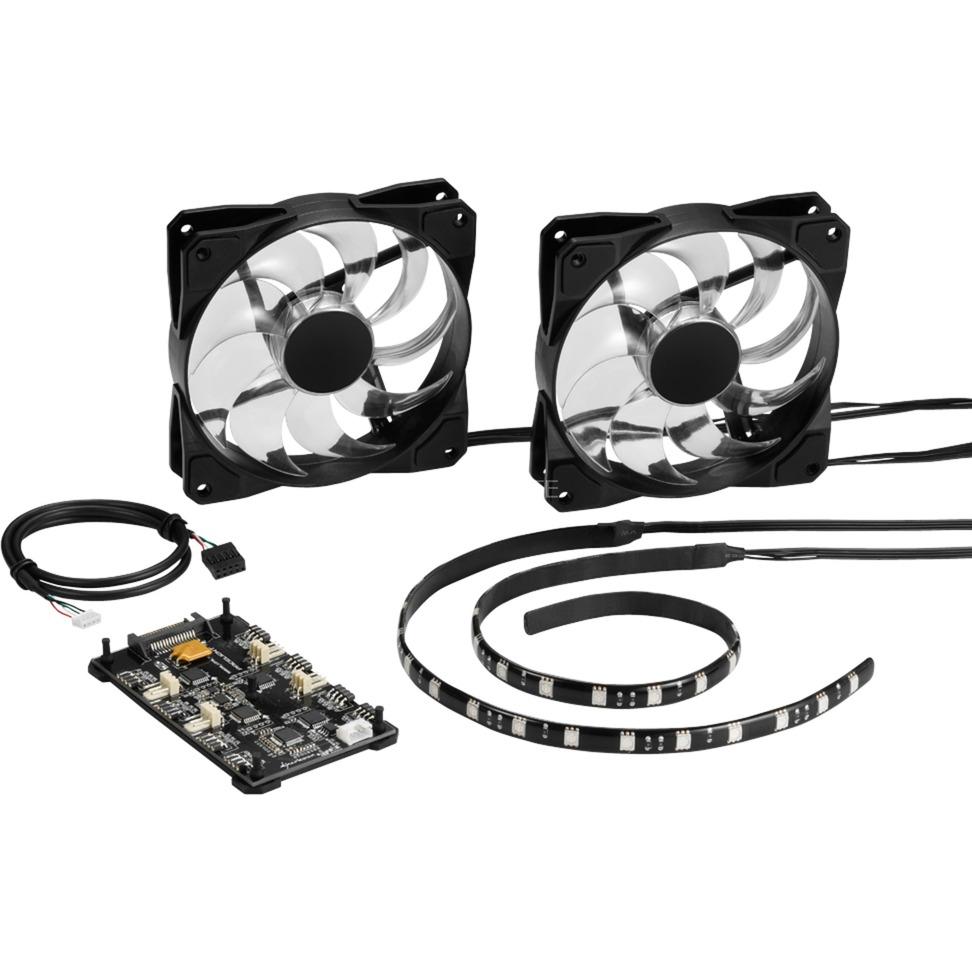 4044951020201 ventilador de PC Carcasa del ordenador Set de refrigeración, Conjunto