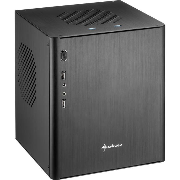 CA-I Mini-Tower Negro carcasa de ordenador, Cajas de torre