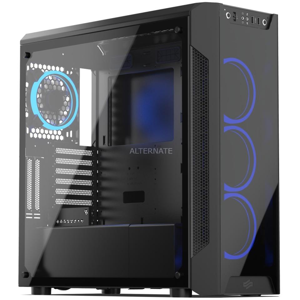Armis AR7X TG RGB Escritorio Negro, Cajas de torre