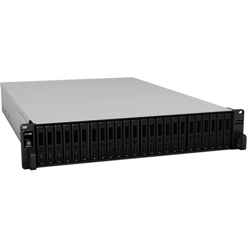 RX2417SAS unidad de disco multiple Bastidor (2U) Negro, Módulo de extensión