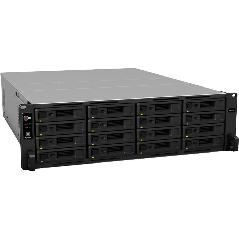 RackStation RS4017xs+ Ethernet Bastidor (3U) Negro, Gris NAS
