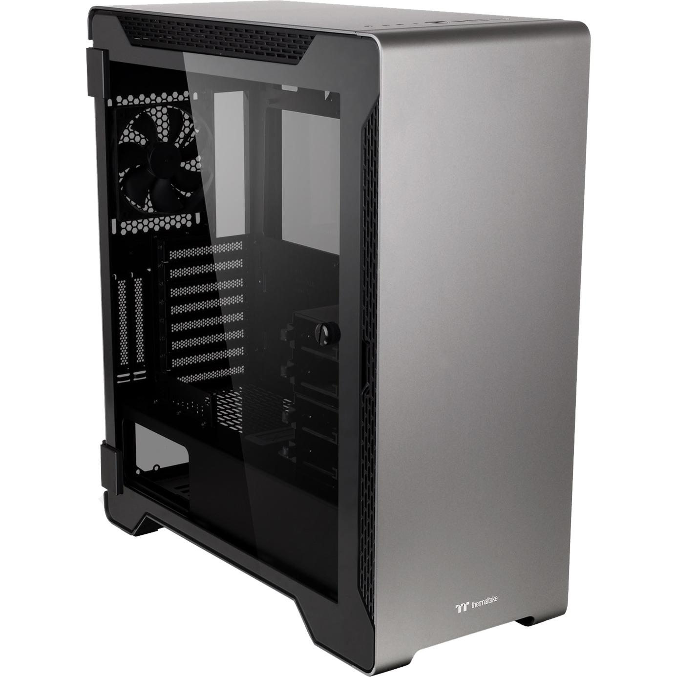 A500 carcasa de ordenador Midi-Tower Negro, Gris, Cajas de torre