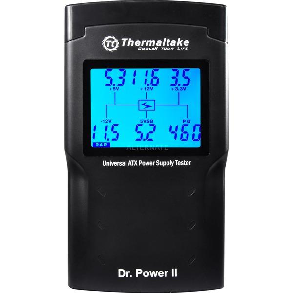 Dr. Power II medidor de energía y batería Negro, Instrumento de medición