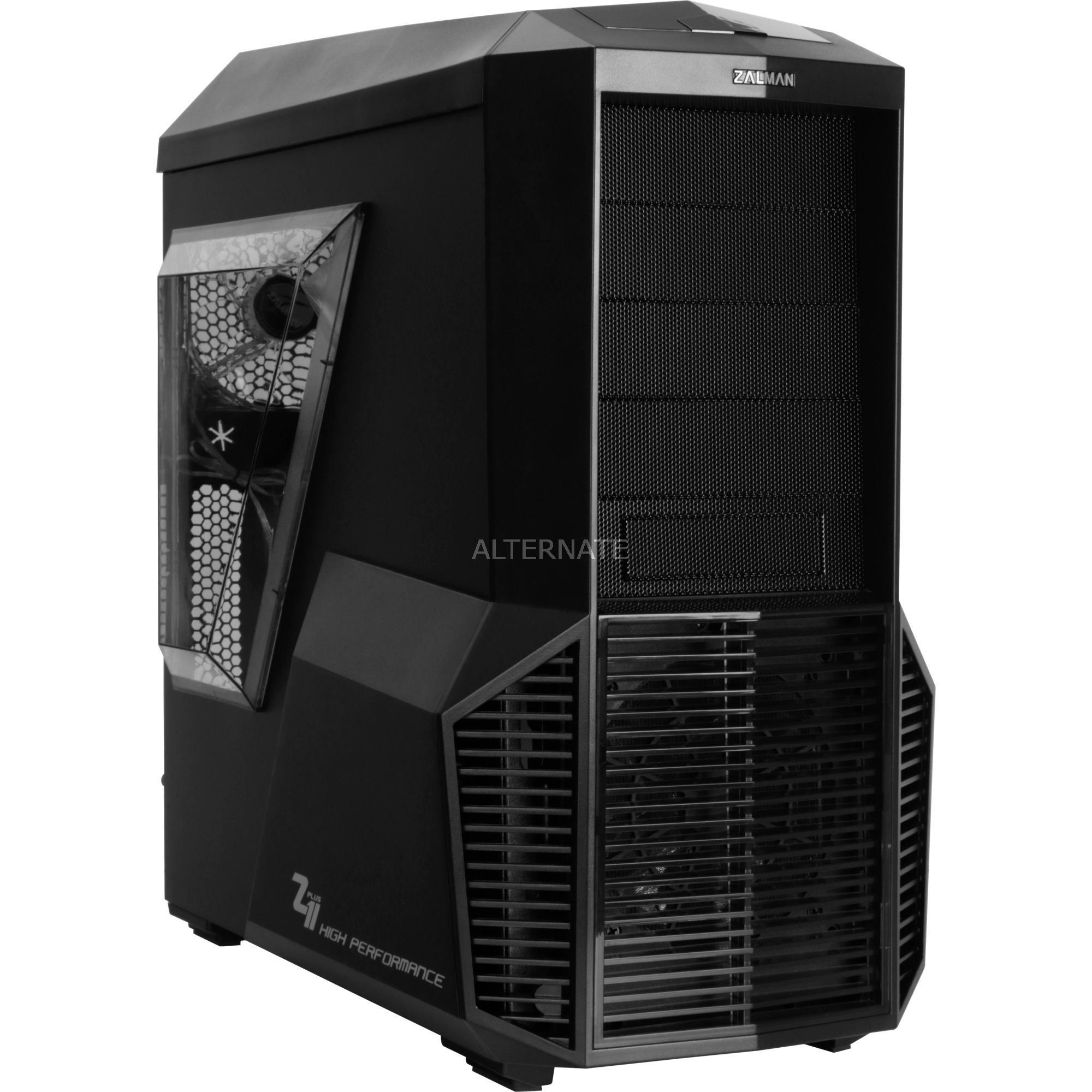 Z11 PLUS HF1 carcasa de ordenador Midi-Tower Negro, Cajas de torre