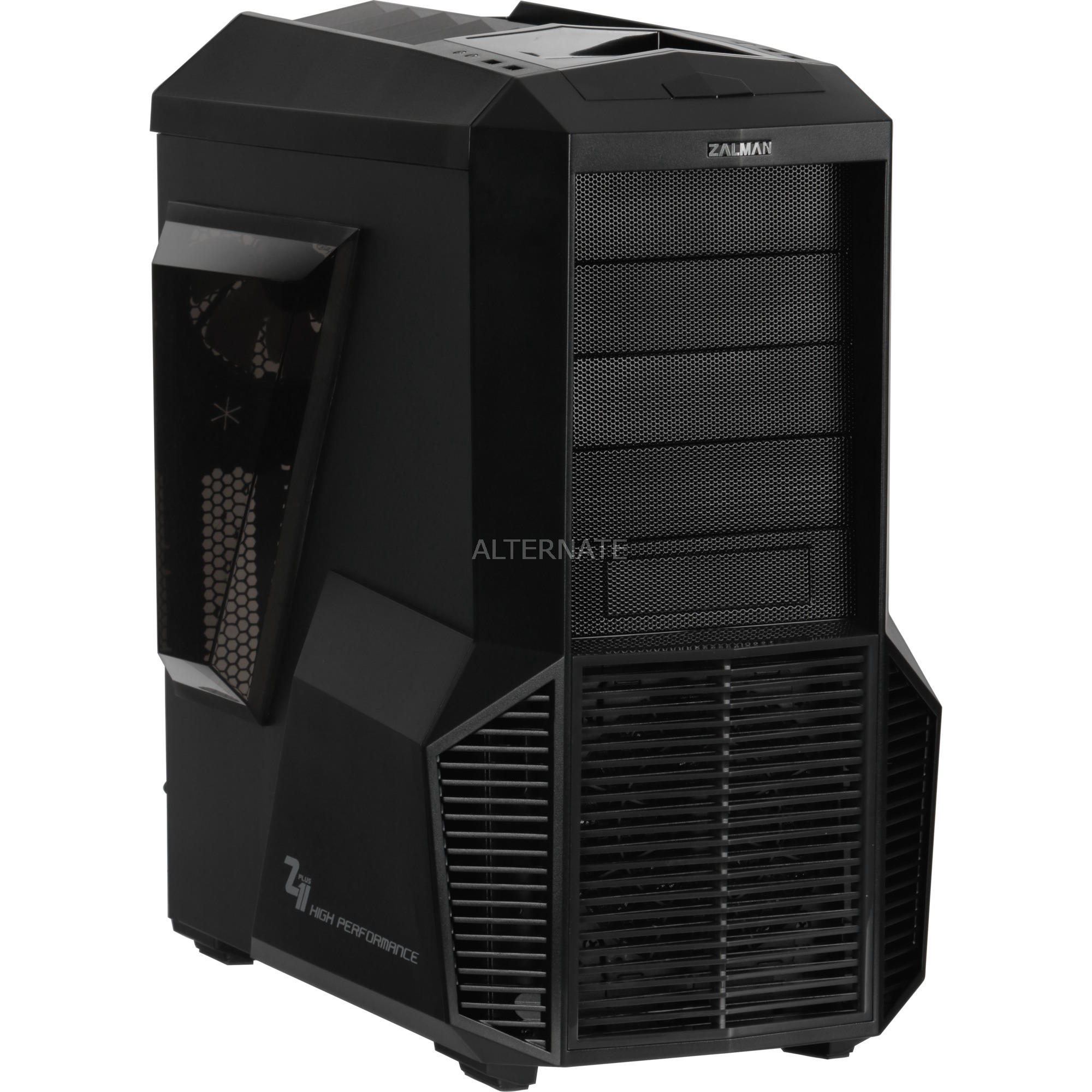 Z11 Plus Midi-Tower Negro carcasa de ordenador, Cajas de torre