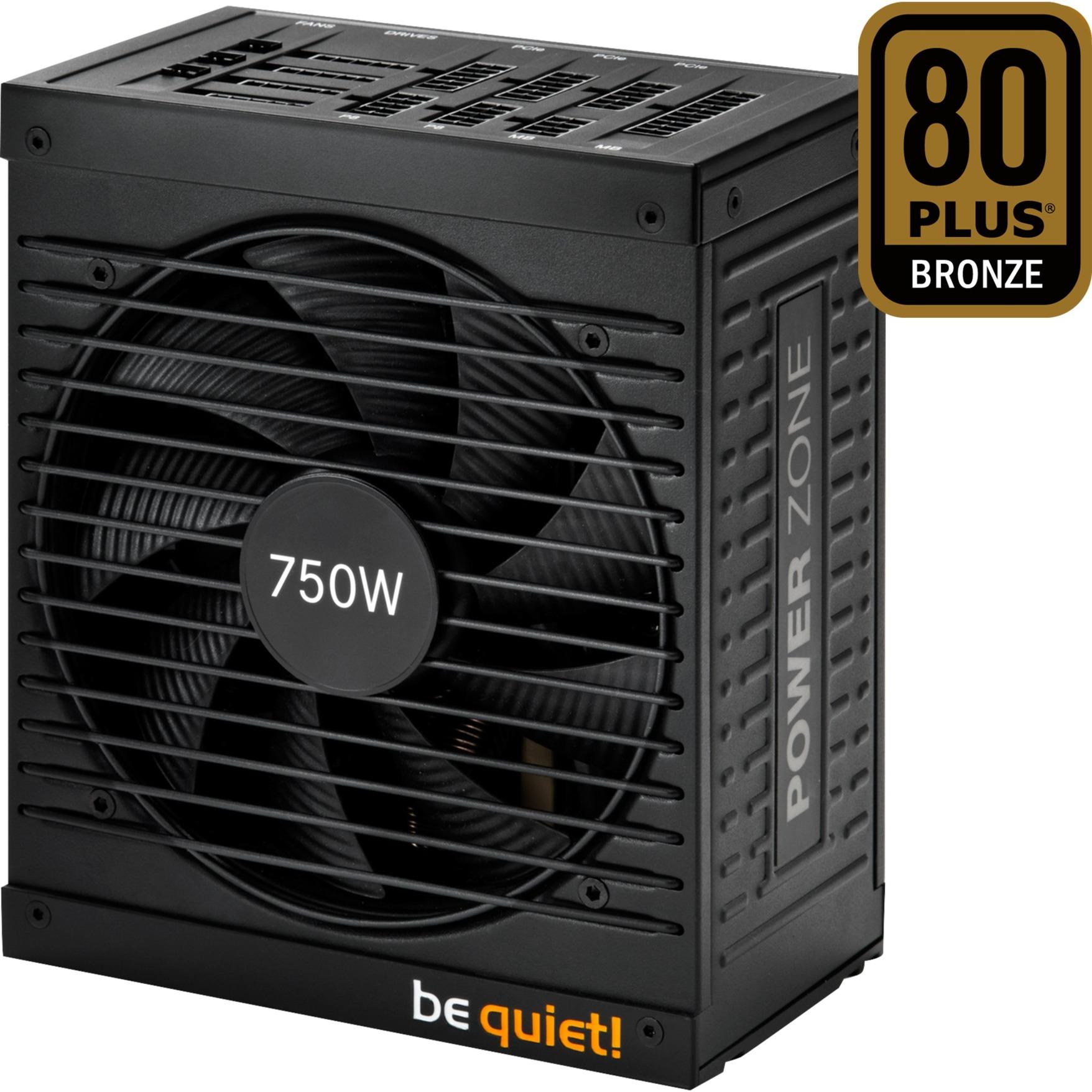 750W Power Zone 750W ATX Negro unidad de fuente de alimentación, Fuente de alimentación de PC