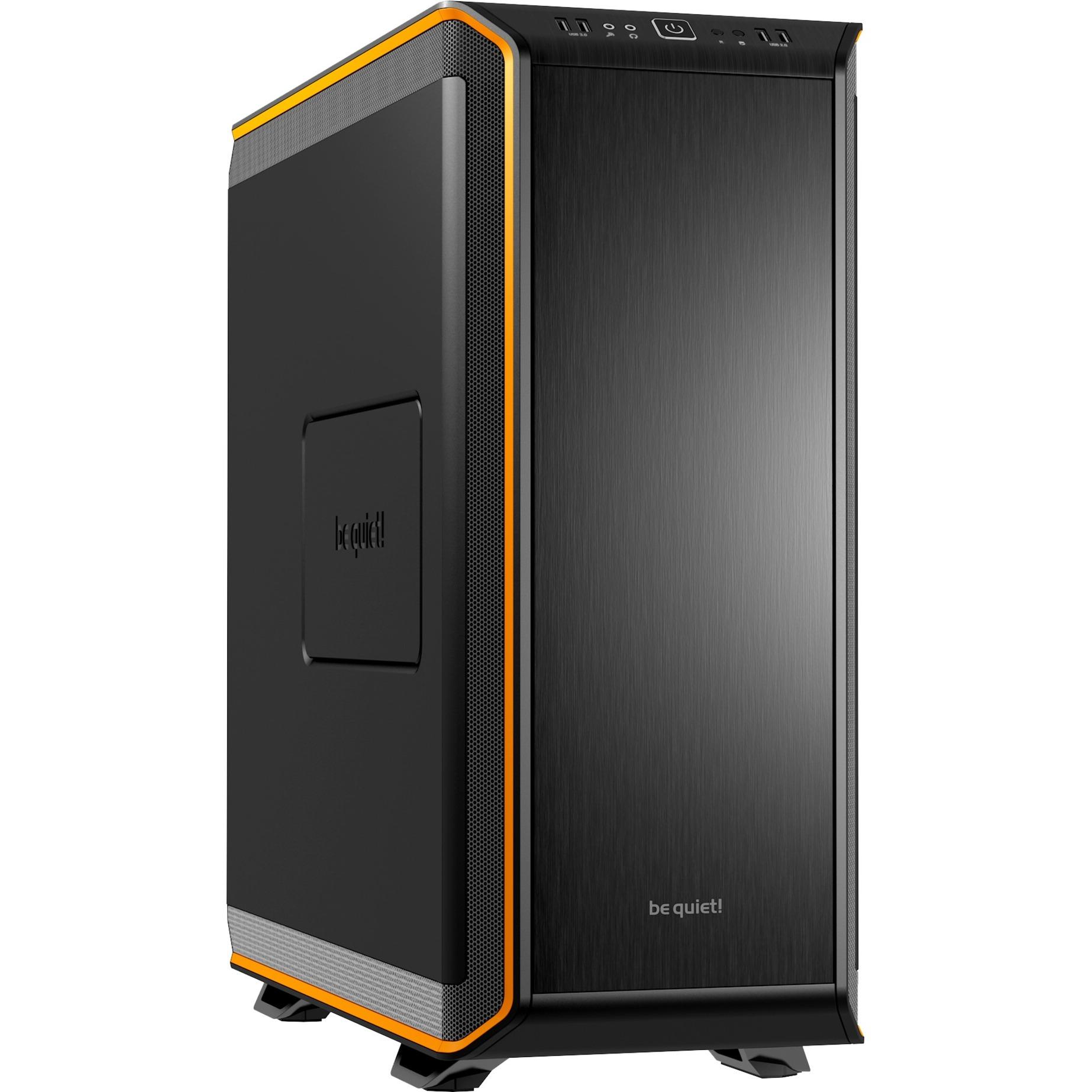 Dark Base 900 Escritorio Negro, Naranja carcasa de ordenador, Caja de torre grande