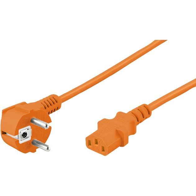 2m Power cable Naranja cable de transmisión