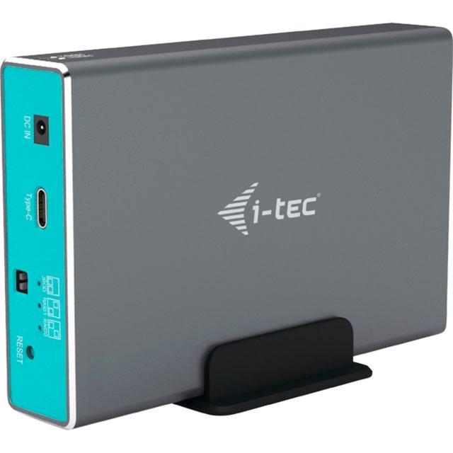 "CAMYSAFEDUAL25 caja para disco duro externo 2.5"" Carcasa de disco duro/SSD Gris, Caja de unidades"