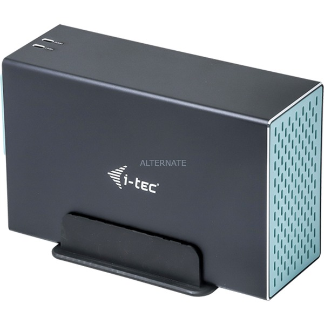 "CAMYSAFEDUAL35 caja para disco duro externo 3.5"" Caja de disco duro (HDD) Negro, Caja de unidades"