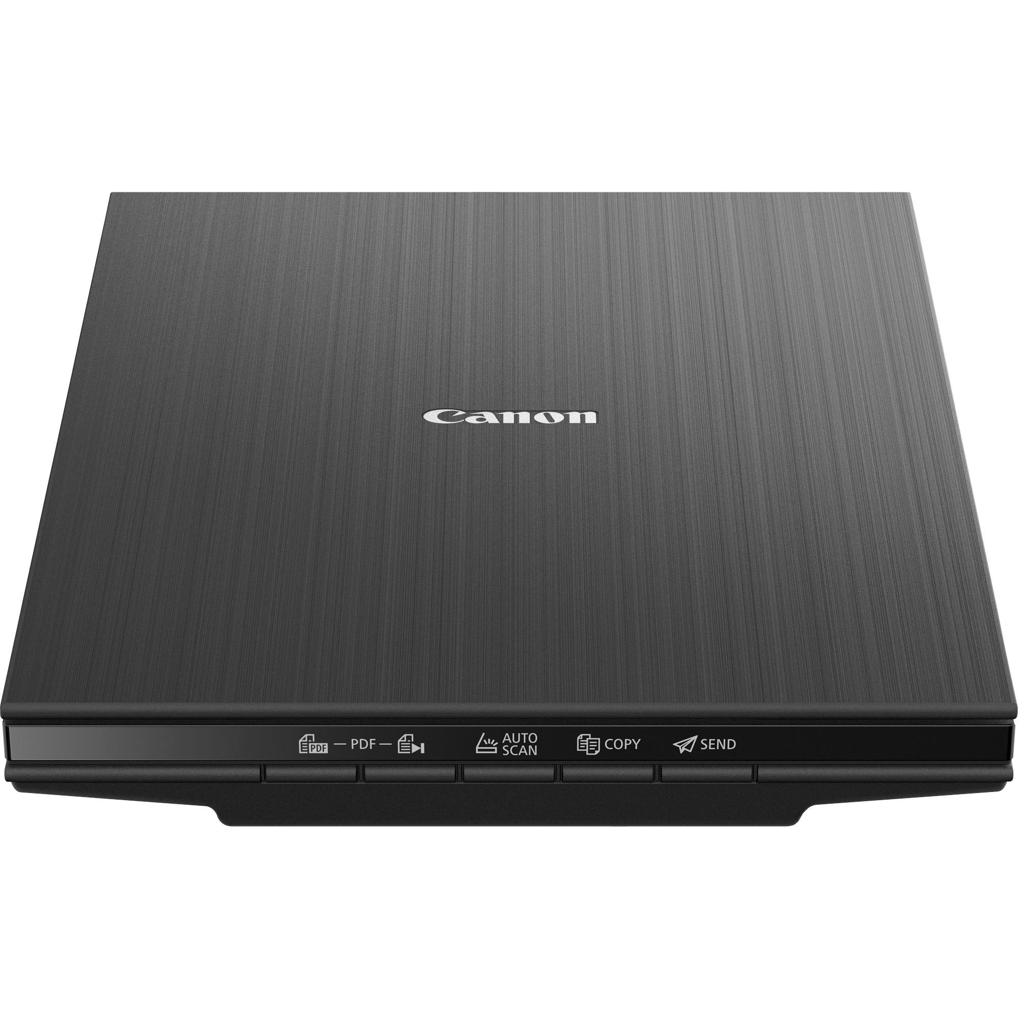 CanoScan LiDE 400 4800 x 4800 DPI Escáner de cama plana Negro A4, Escáner plano