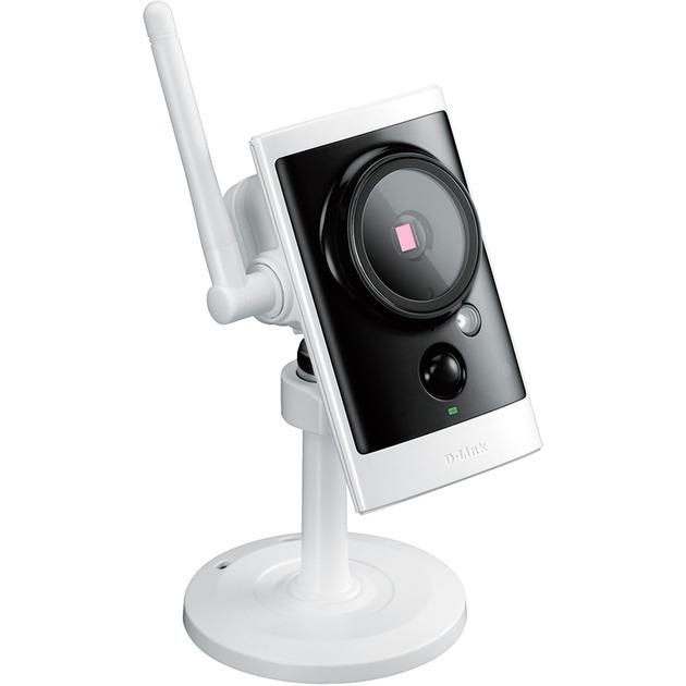 DCS-2330L IP security camera Interior y exterior Caja Negro, Color blanco, Cámara de vigilancia