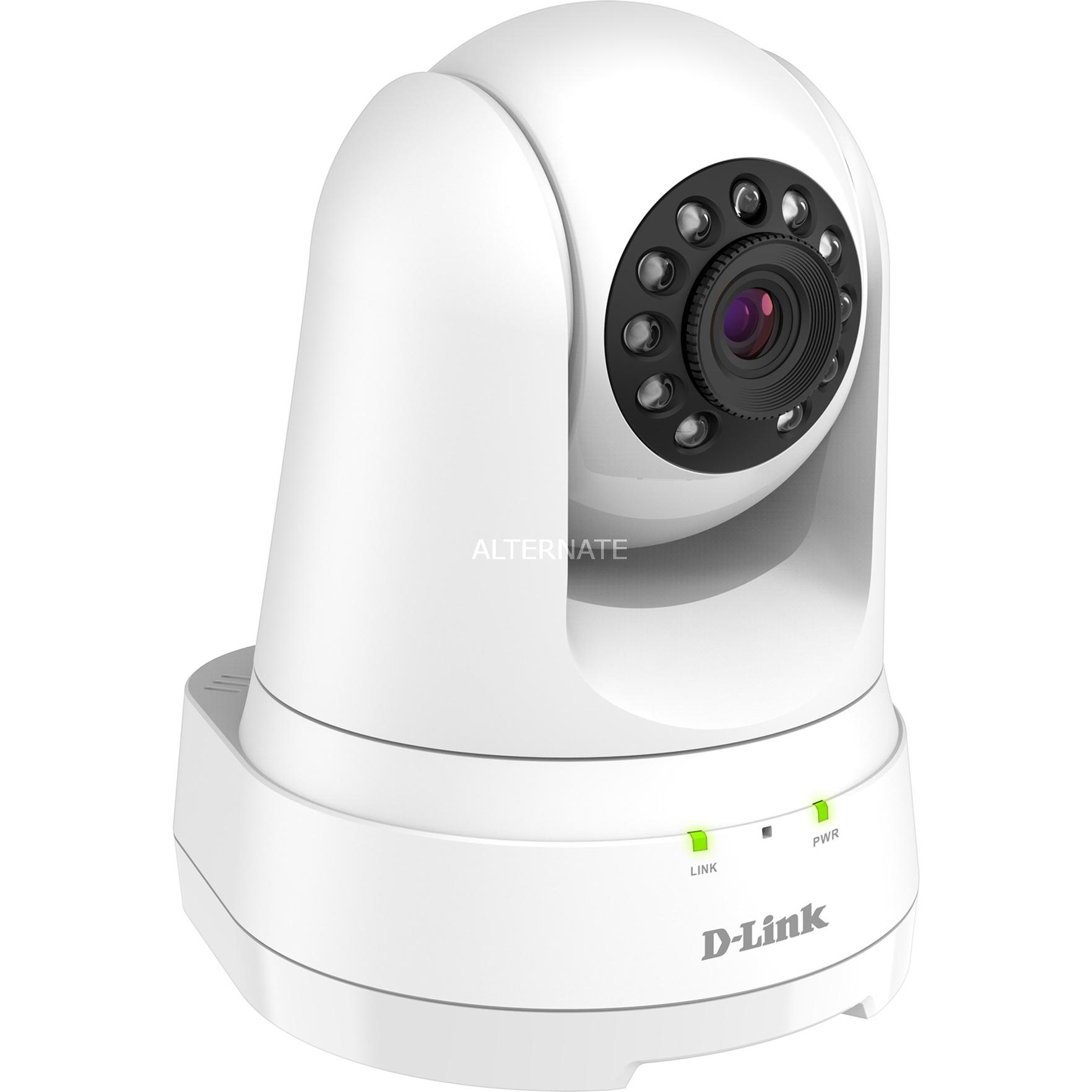 DCS-8525LH cámara de vigilancia Cámara de seguridad IP Interior Esférico Blanco 1920 x 1080 Pixeles, Cámara de red
