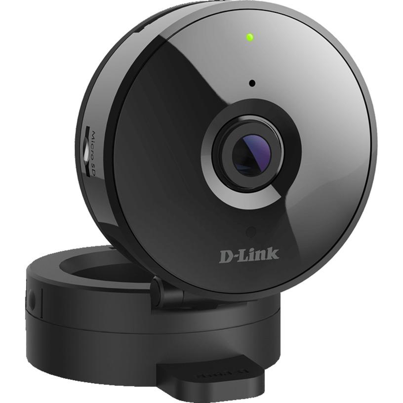 DCS-936L cámara de vigilancia Cámara de seguridad IP Interior Cubo Negro 1280 x 720 Pixeles, Cámara de red