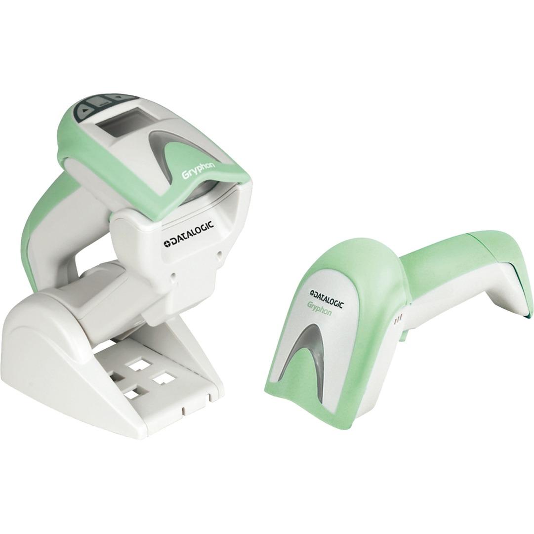 Gryphon I GM4100 Healthcare Verde, Blanco, Escáner de código de barras