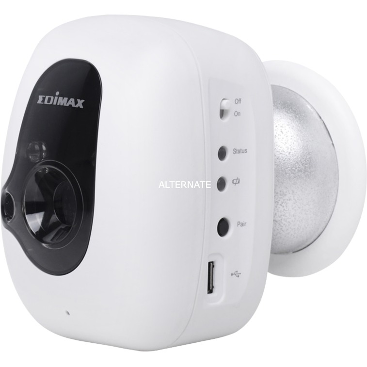 IC-3210W cámara de vigilancia Cámara de seguridad IP Interior Almohadilla Techo/pared 640 x 480 Pixeles, Cámara de red