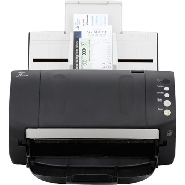 fi-7140 ADF scanner 600 x 600DPI A4 Negro, Color blanco, Escáner de alimentación de hojas