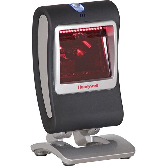 Genesis 7580 1D/2D Negro Lector de códigos de barras fijo, Escáner de código de barras