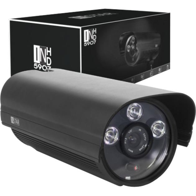 IN-5907HD Cámara de seguridad IP Exterior Bala Negro 1280 x 720Pixeles, Cámara de vigilancia