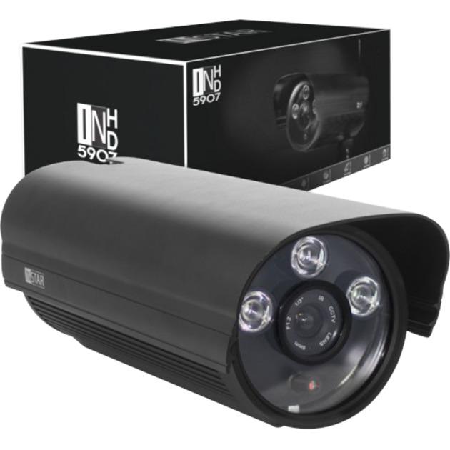 IN-5907HD Cámara de seguridad IP Exterior Bala Negro 1280 x 720 Pixeles, Cámara de vigilancia