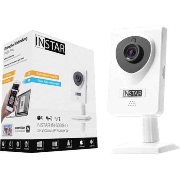 IN-6001HD Cámara de seguridad IP Interior Cubo Escritorio 1280 x 720 Pixeles, Cámara de red