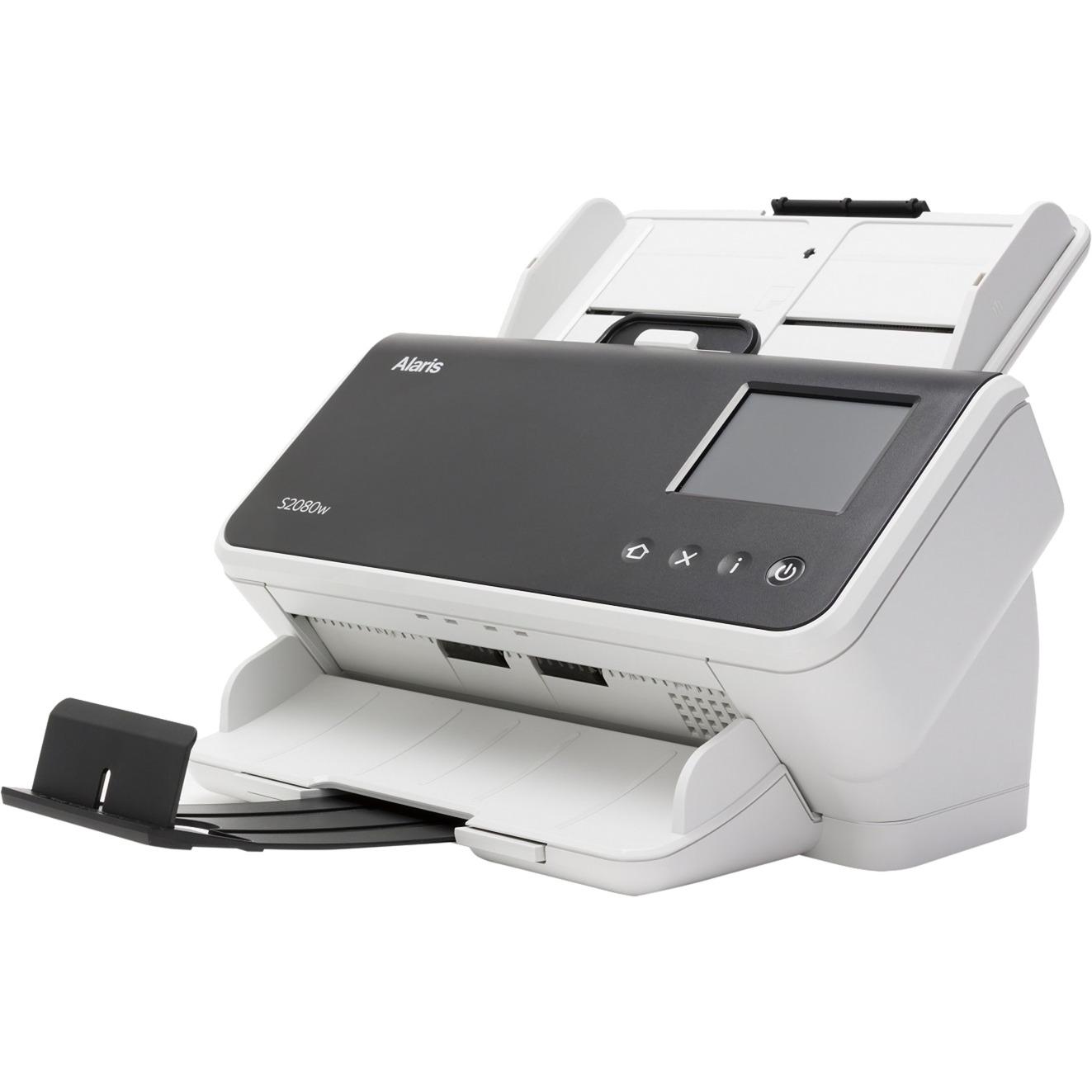ALARIS S2080W Scanner 600 x 600 DPI Escáner con alimentador automático de documentos (ADF) Negro, Blanco A3