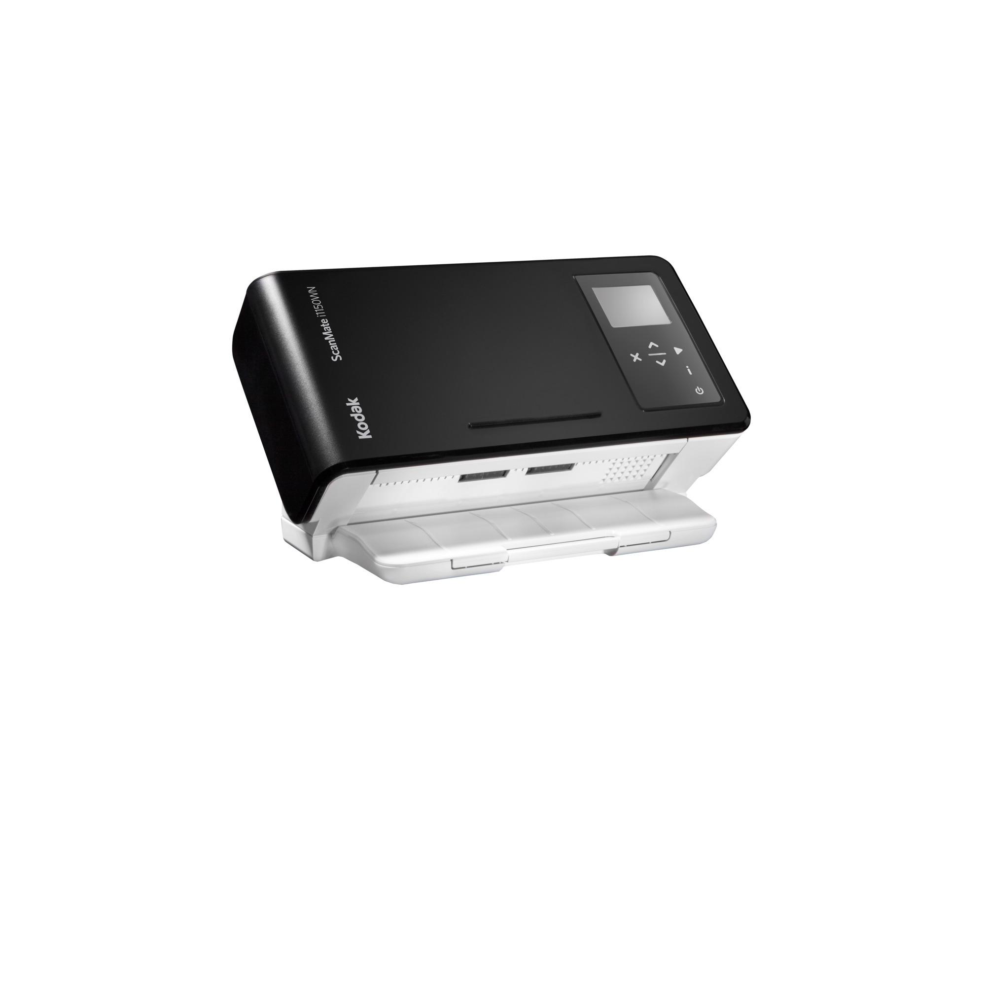 ScanMate i1150WN Scanner 600 x 600 DPI Escáner con alimentador automático de documentos (ADF) Negro A4, Escáner de alimentación de hojas
