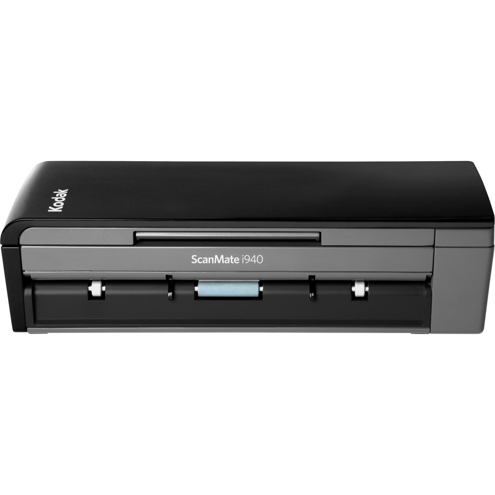 ScanMate i940 Scanner Escáner con alimentador automático de documentos (ADF) 600 x 600DPI A4 Negro, Gris, Escáner de alimentación de hojas
