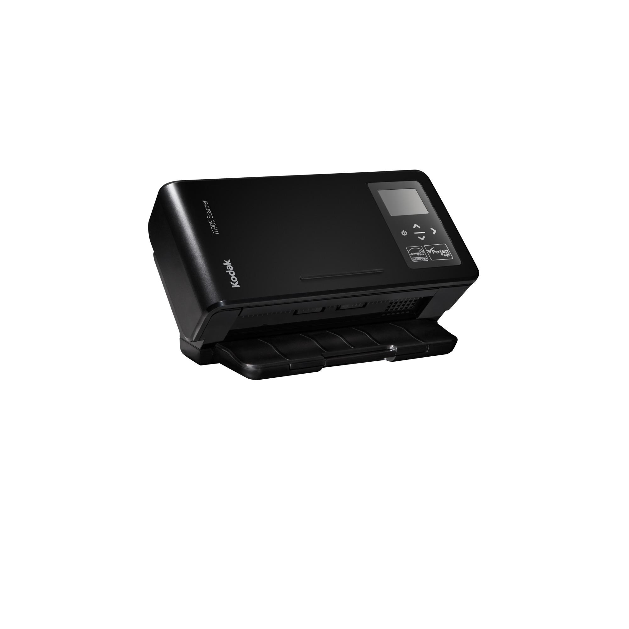 i1190E Scanner Escáner con alimentador automático de documentos (ADF) 600 x 600DPI A4 Negro, Escáner de alimentación de hojas