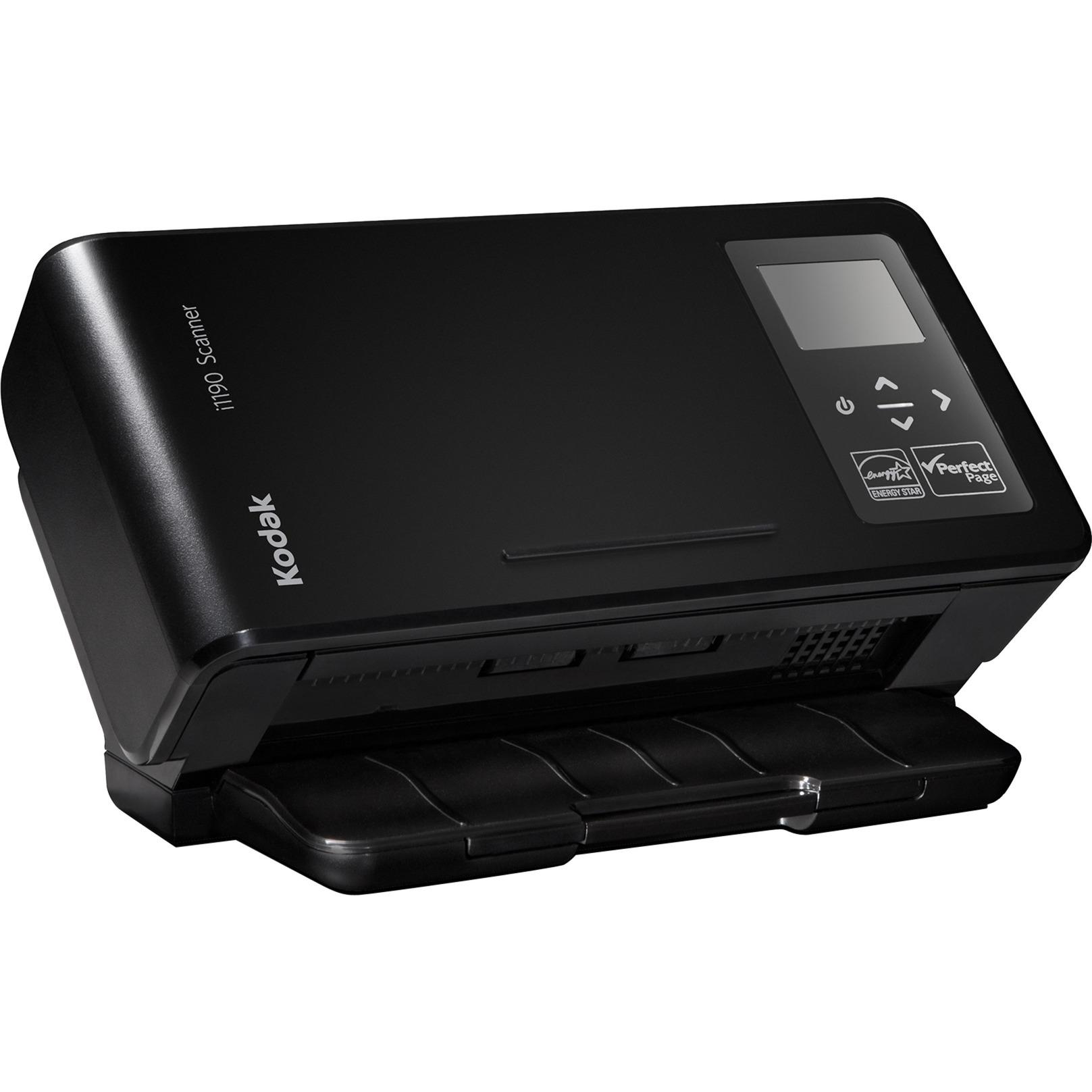 i1190 Scanner 600 x 600 DPI Escáner con alimentador automático de documentos (ADF) Negro A4