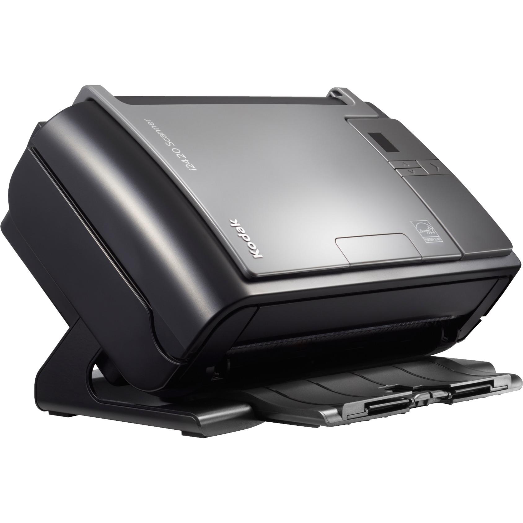 i2420 600 x 600 DPI Escáner con alimentador automático de documentos (ADF) Negro, Gris A4, Escáner de alimentación de hojas