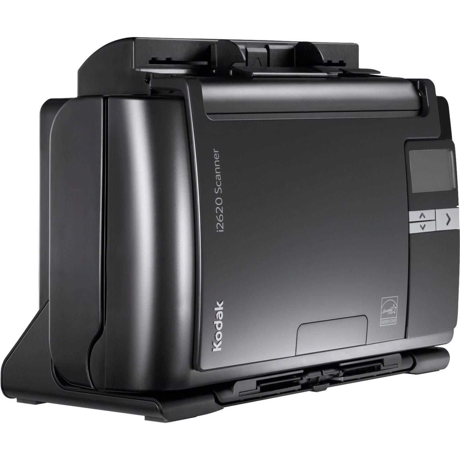 i2620 Escáner con alimentador automático de documentos (ADF) 600 x 600DPI A4 Negro, Escáner de alimentación de hojas