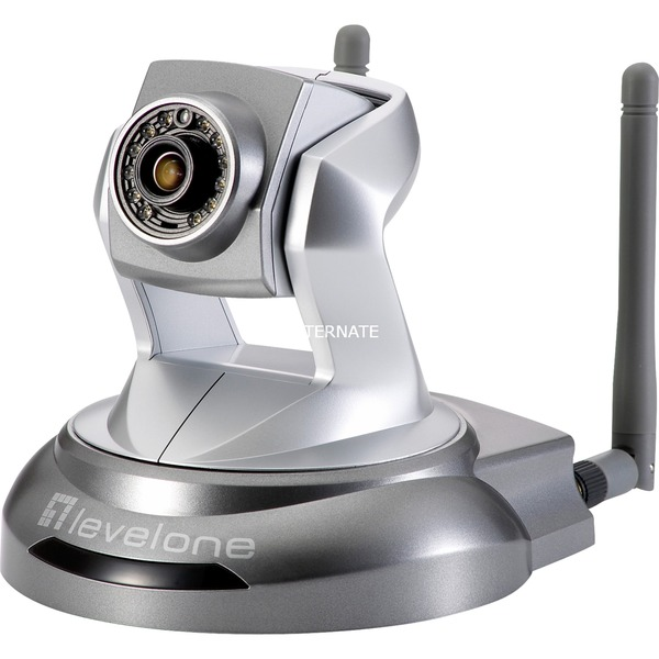 Cámara de red PT, 2-Megapixel, 150Mbps 802.11b/g/n, día/noche, indicadores LED IR, Cámara de vigilancia