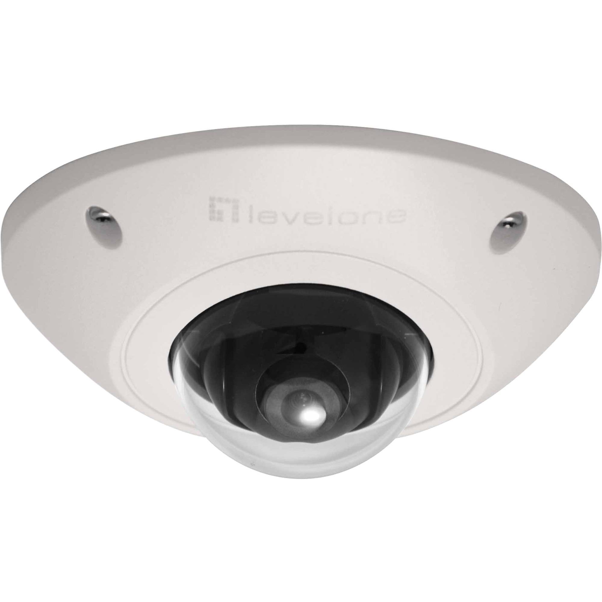 FCS-3073 cámara de vigilancia Cámara de seguridad IP Interior y exterior Almohadilla Blanco 1920 x 1080 Pixeles, Cámara de red