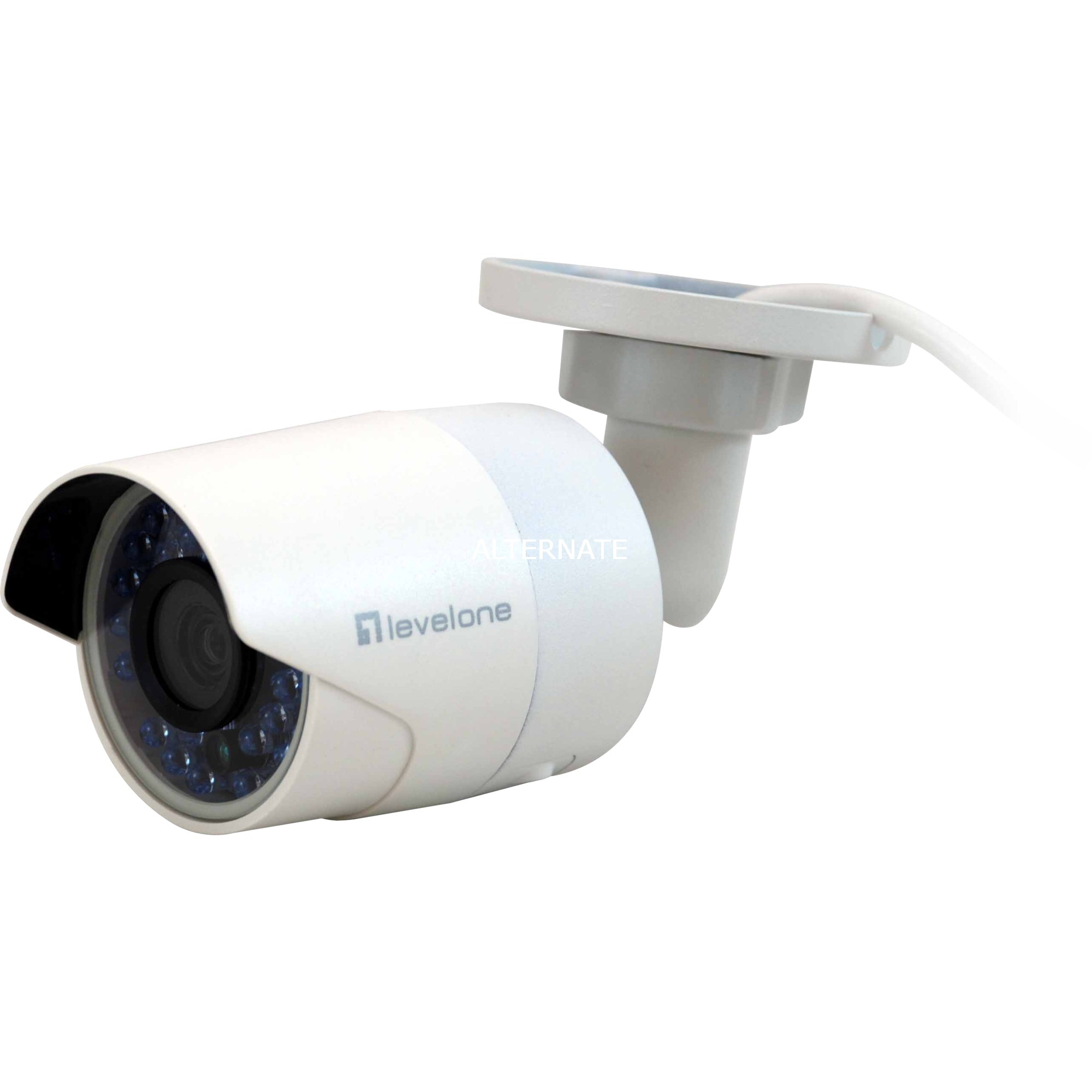 FCS-5058 cámara de vigilancia Cámara de seguridad IP Interior y exterior Bala Blanco 1920 x 1080 Pixeles, Cámara de red