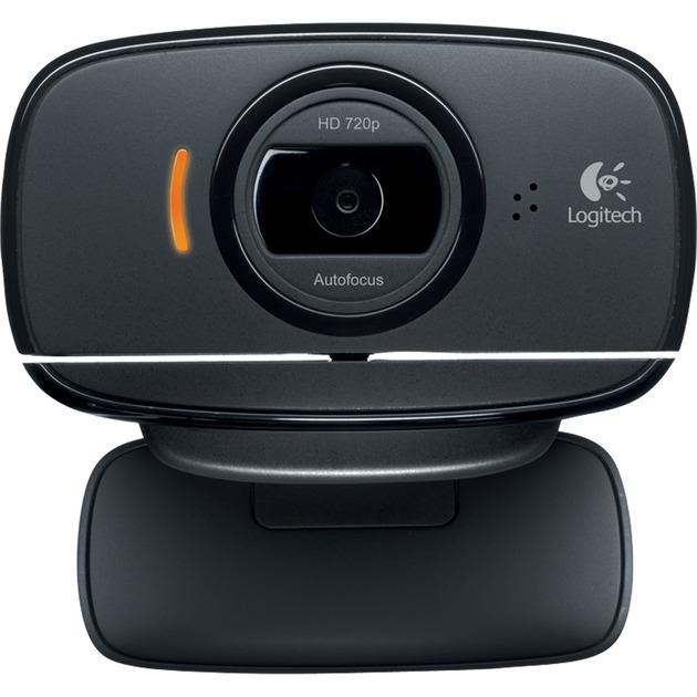 B525 HD cámara web 2 MP 1280 x 720 Pixeles USB 2.0 Negro, Webcam