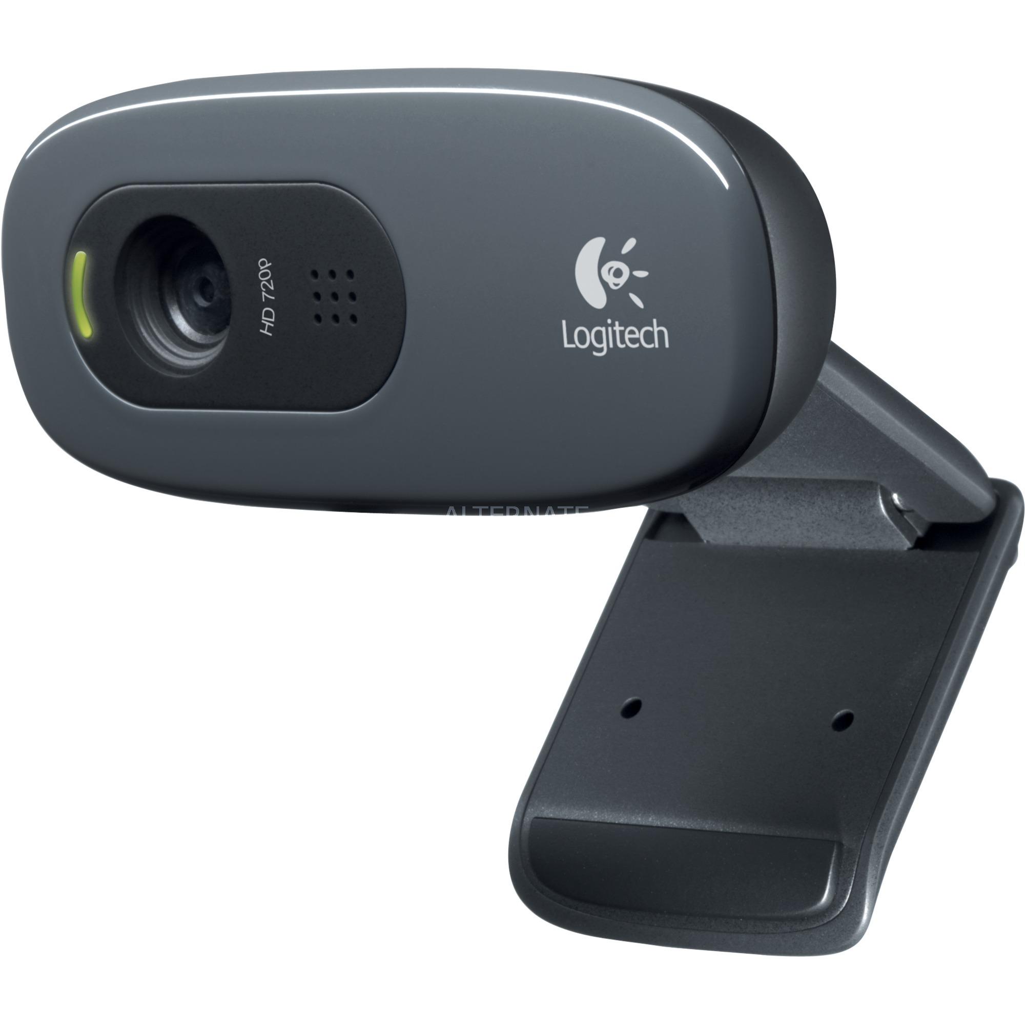 C270 cámara web 3 MP 1280 x 720 Pixeles USB 2.0 Negro, Webcam
