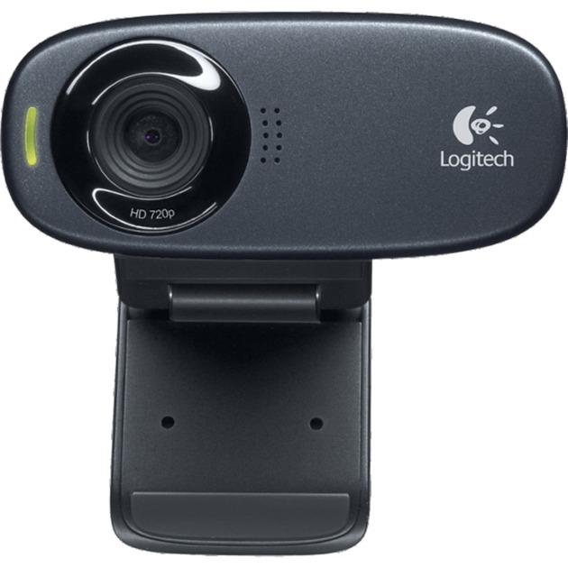 C310 cámara web 5 MP 1280 x 720 Pixeles USB Negro, Webcam