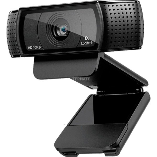 C920 15MP 1920 x 1080Pixeles USB 2.0 Negro cámara web, Webcam