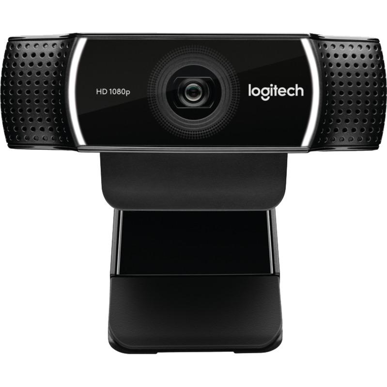 C922 cámara web 1920 x 1080 Pixeles USB Negro, Webcam