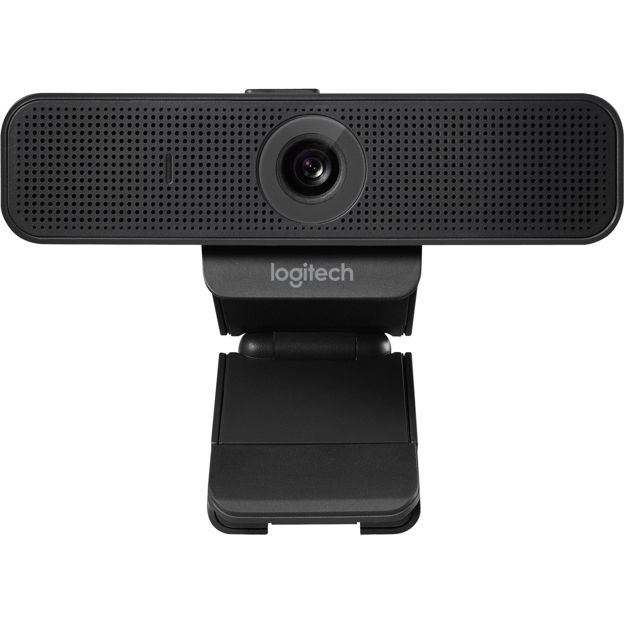 C925e 1920 x 1080Pixeles USB 2.0 Negro cámara web, Webcam