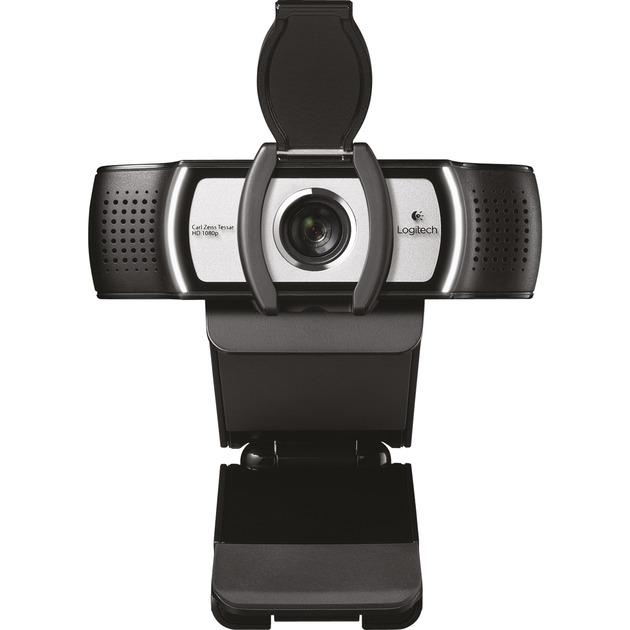 C930e cámara web 1920 x 1080 Pixeles USB Negro, Webcam