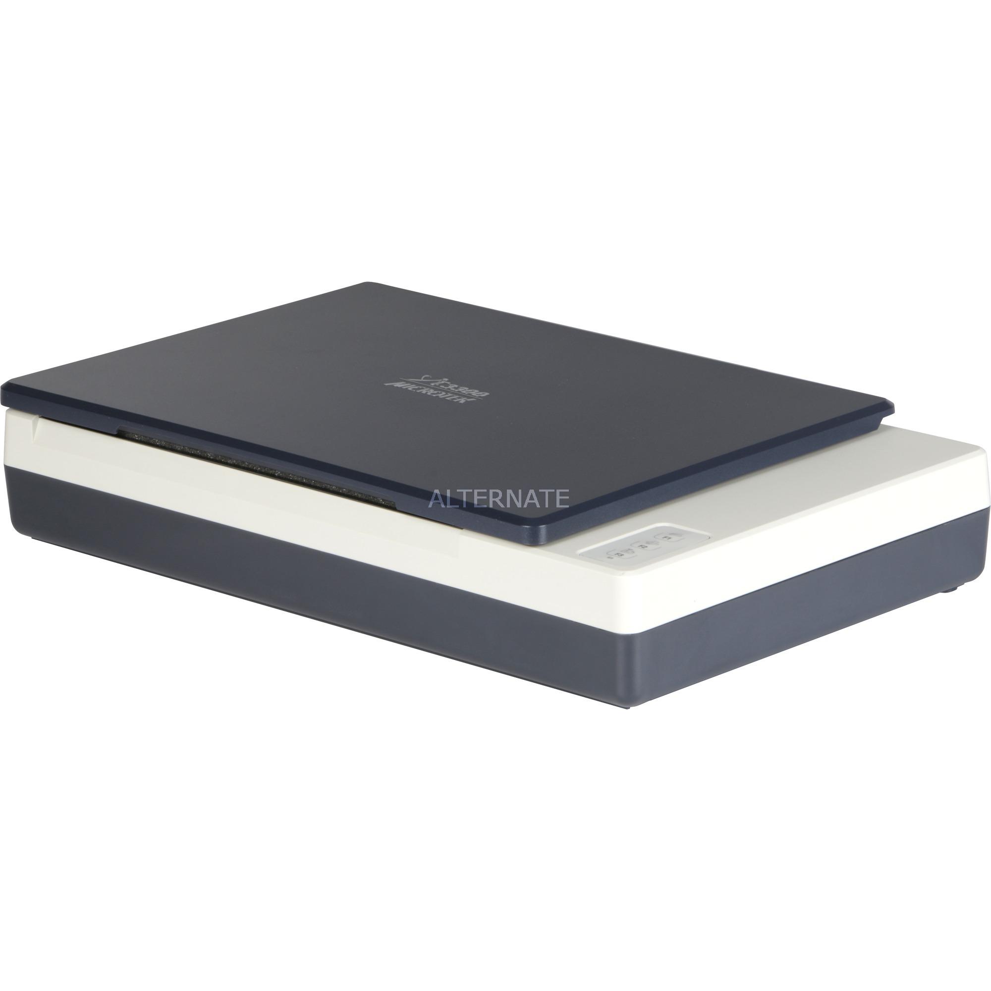 XT-3300 Escáner de cama plana 1200 x 2400DPI A4 Azul, Gris, Escáner plano
