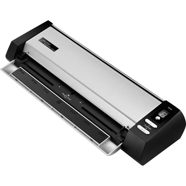 MobileOffice D430 600 x 600 DPI Escáner alimentado con hojas Negro, Plata A4, Escáner de alimentación de hojas