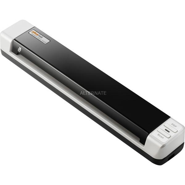 MobileOffice S410 Escáner alimentado con hojas 600 x 600DPI A4 Negro, Color blanco, Escáner de alimentación de hojas