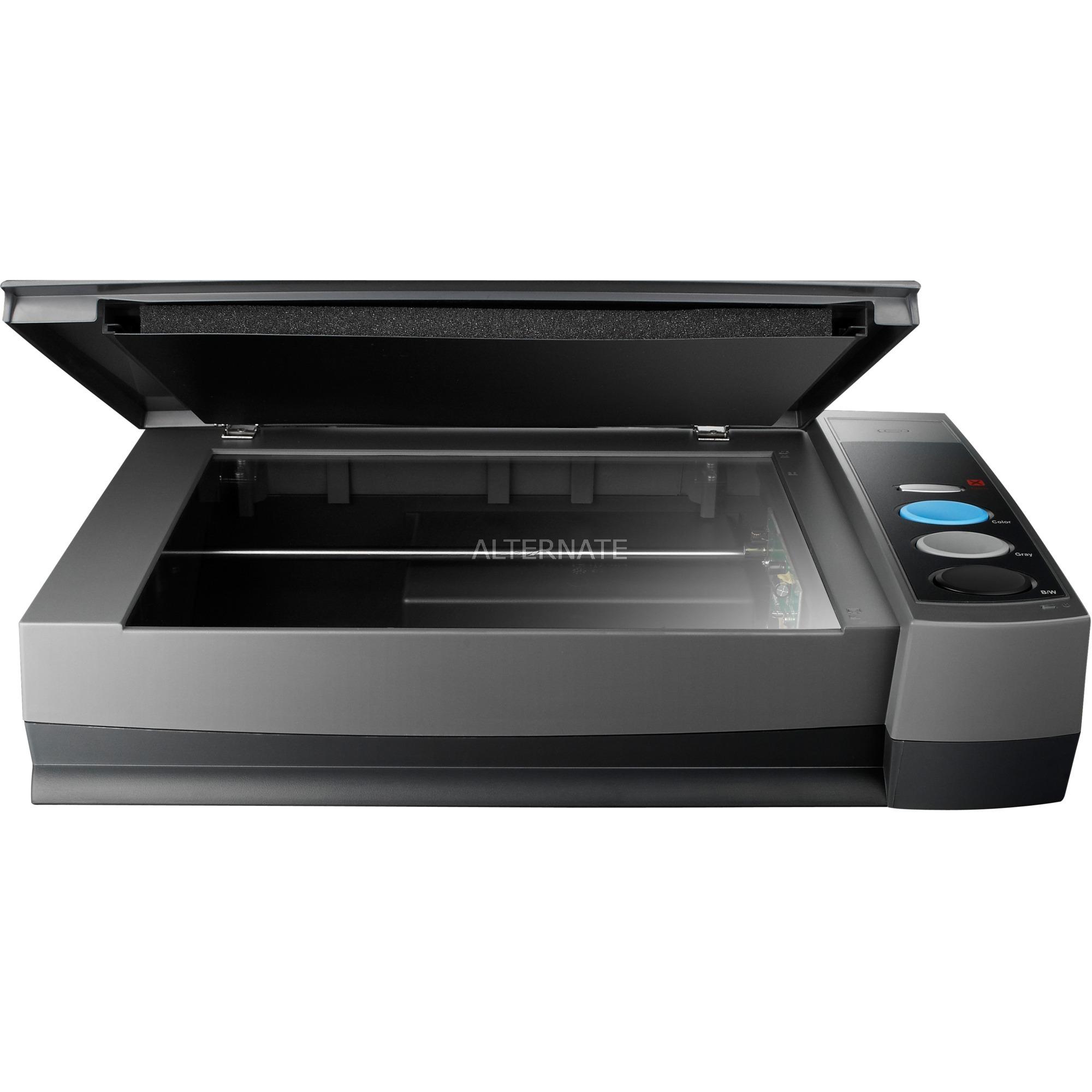 OpticBook 3900 1200 x 1200 DPI Escáner de cama plana Negro A4, Escáner plano